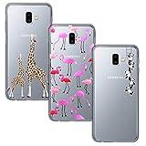 Yoowei [3-Pack] for Samsung Galaxy J6 Plus Case, Ultra Thin