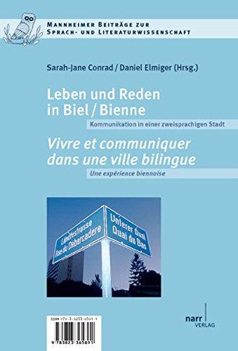 Leben und Reden in Biel/Bienne (Mannheimer Beiträge zur Sprach- und Literaturwissenschaft)