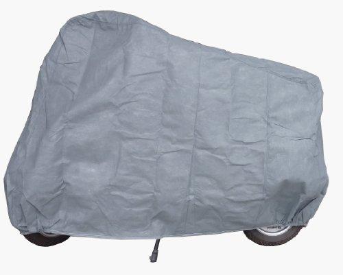 Car-e-Cover Motorradplane Motorrad Abdeckung Abdeckplane 100% wasserdicht Aussenbereich für Vespa LX 50