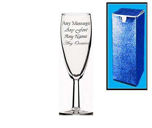 Gravur personalisierbar kurz Champagner Flöte Hochzeit Brautjungfer Geburtstag Geschenk (Brautjungfer Flöte)