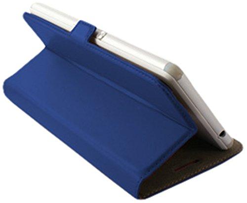 """Ksix BXFU13T5.0AZ - Funda folio universal slide para móviles de 5"""", color azul"""