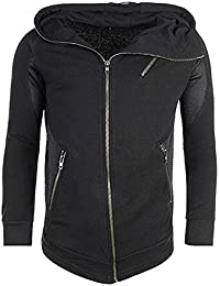 Veste Zippée Cabaneli Filet Noir
