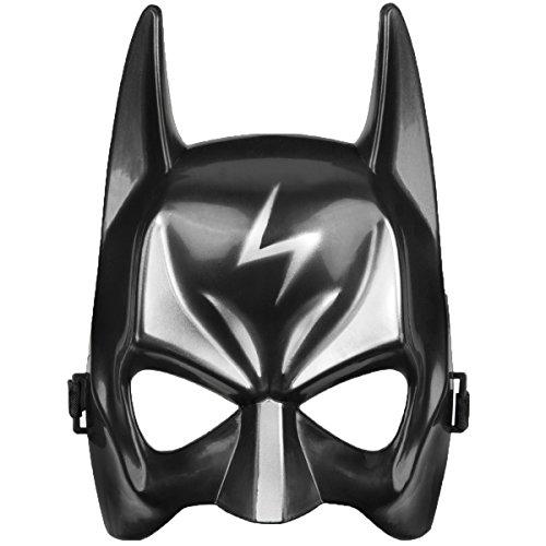 Kinder Batman Clown Masken für Halloween Fasching Karneval Kostüme gruselige Horrormasken mit Gummiband - Gesichtsmaske für Jungen und (Batman Für Kostüme Mädchen)