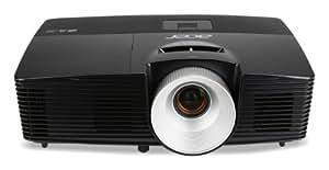 Acer X1383WH Proiettore, Risoluzione WXGA, Contrasto 17.000:1, Luminosità 3.100 ANSI, VGA/HDMI/MHL, Nero