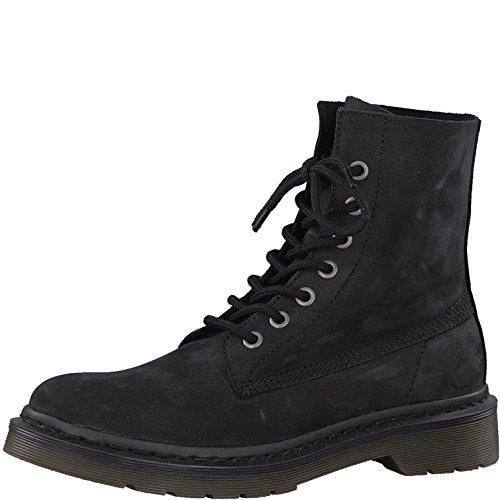 Tamaris 1-1-25230-38 Damen Stiefel, Boots, Stiefeletten für die modebewusste Frau schwarz (Black), EU 40