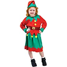 83e998be62c91 Filles Sweet Elf Santas Helper de Noël Festive Fun Celebration Déguisement