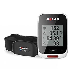 Polar M450 HRM Pulsómetro con GPS, Unisex, Blanco