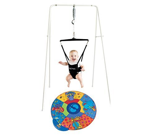 Jolly Jumper On a Stand and Musical Play Mat by Jolly Jumper