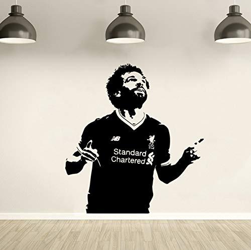 xlei Deko Wandtattoo Vinyl Aufkleber Wandbild Liverpool Soccer Wallpaper Wohnkultur Schlafzimmer Kunst Poster 74X80 cm (Liverpool Wallpaper)