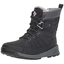 Columbia Women's Meadows Shorty Omni Boots, Black (Heat-Black, Steam), 9 UK 42 EU