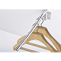 Wall Mounted Swivel Clothes Drying Rack Bathroom Laundry Dryer 304 Stainless Steel