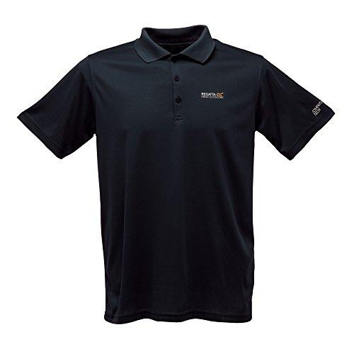 Regatta Maverik III Herren Polo Shirt black