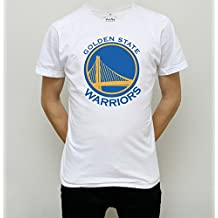T-SHIRT NBA GOLDEN STATE WARRIORS BASKET AMERICANO blanco Talla:XL