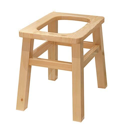 Tragbarer Toilettensitz, The Elderly Bedside Commode Chair FüR Toiletten, Belastung 120 Kg, Einteilig, HöHe 25/30/35 / 40cm