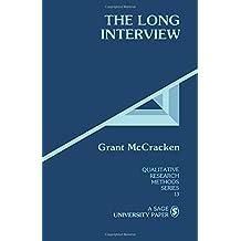 MCCRACKEN: THE LONG INTERVIEW (P) (Qualitative Research Methods)