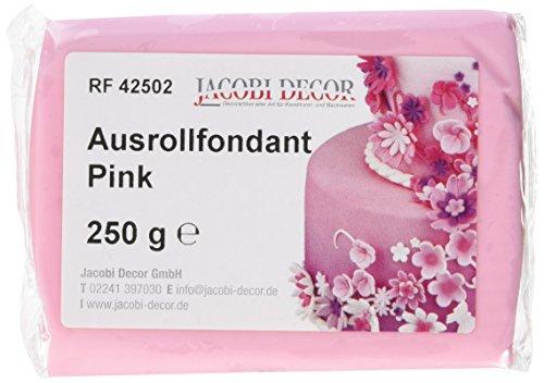 Cake Company  Fondant rosa, 4er Pack (4 x 250 g)