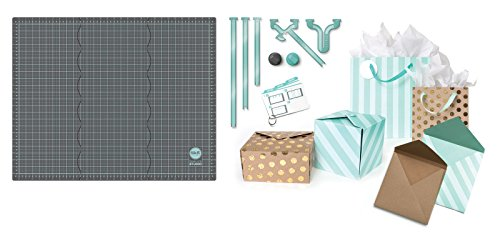 We R Memory Keepers Template Studio Board Starter Kit, Plastic, Grey, 30,5 x 63,4 x 0,5 cm Studio Kit Bag