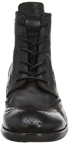 Hudson Simpson Calf, Boots classiques homme Noir (noir)