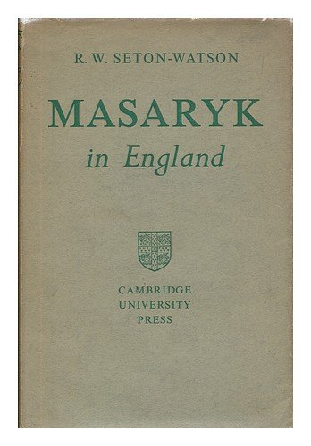 Masaryk in England