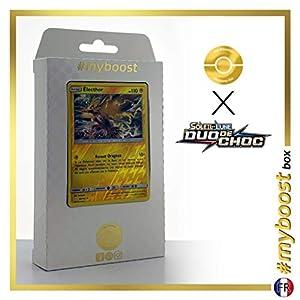 Electrode (Zapdos) 40/181 Holo Reverse - #myboost X Soleil & Lune 9 Duo de Choc - Box de 10 Cartas Pokémon Francés