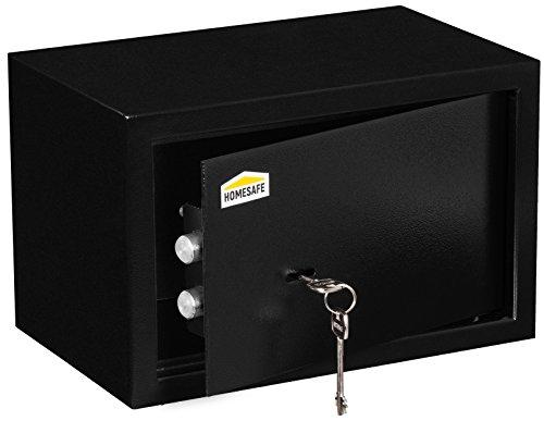 Homesafe HV20K cassaforte con serrattura meccanica - 20x31x20cm (HxWxD), Cassaforte con serratura meccanica