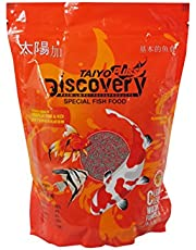 Taiyo Pluss Discovery Fish Food, 1 Kg Bag (Food Size : 1.2mm)