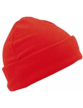 Myrtle Beach MB7720–Gorro polar, estilo de marinero, solapa grande, color rojo, unisex para hombre/mujer