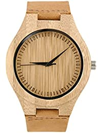 Amazon.es   Bamboo   Relojes 3b96e2c3940b