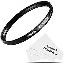 Neewer 67 MM Filtro UV de protección para lente + paño de limpieza microfibra para Nikon D7100 D5300 D6700 D5100 D5000 D3300 D3200 D3100 D3000 D90 D80 cámara réflex digital
