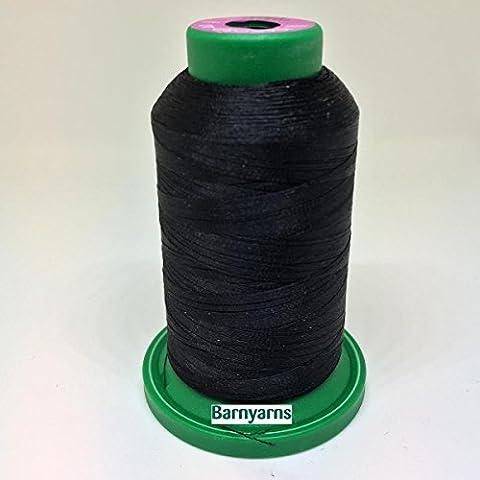 Isacord Machine Embroidery Thread No.40 1000m Cone BLACK