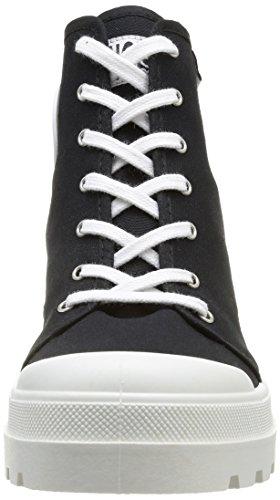 No Box Galia, Baskets mode femme Noir (Black)