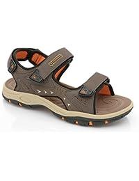 Men's Dunlop Sports Beach Trekking Walking Hiking Velcro Sandals Summer Shoes Size