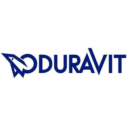 Duravit 60390000 WC-Sitz D-Code (lang) Weiss mit SoftClose und Scharnieren aus Edelstahl