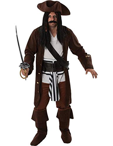 Piratenkostüm für Herren Extra Large