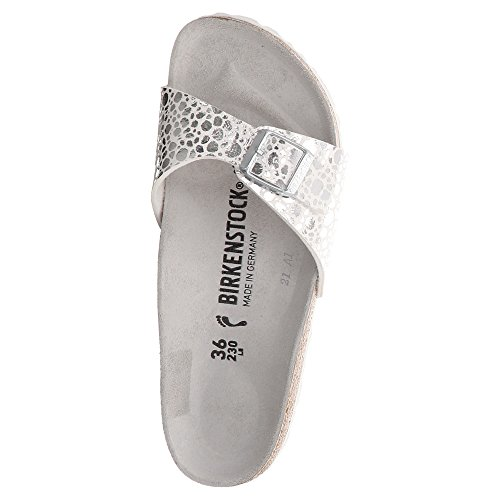 BIRKENSTOCK 1008802, Mules Pour Femme Silber
