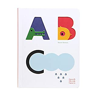 TouchThinkLearn: ABC: (Baby Board Books, Baby Touch and Feel Books, Sensory Books for Toddlers)