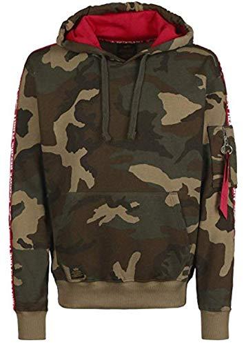 Alpha Industries RBF Tape Hoodie Camouflage L -