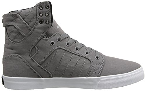 Supra Skytop, Baskets mode homme Gris (Grey/Print/White)