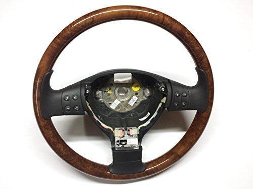 VW GOLF 5 V JETTA PASSAT Volante VOLANTE DE MADERA 1k0419091ad fxz multi-función de volante 1k0 419 091 AD fxz Cuero Touran, CADDY III , PASSAT 3c PASSAT CC SCIROCCO 3 EOS GOLF PLUS tiguan, etc