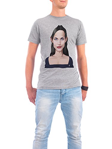 "Design T-Shirt Männer Continental Cotton ""Liv Tyler"" - stylisches Shirt Film von Rob Snow Grau"