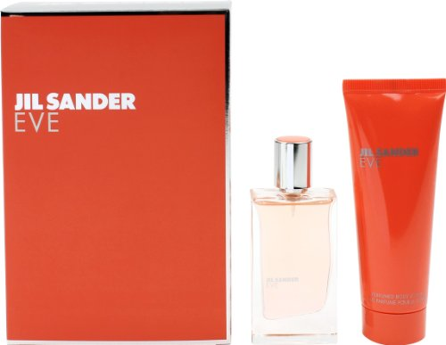 Jil Sander Eve Geschenkset femme / woman, Eau de Toilette Vaporisateur / Spray 30 ml, Bodylotion 75 ml, 1er Pack (1 x 105 ml)