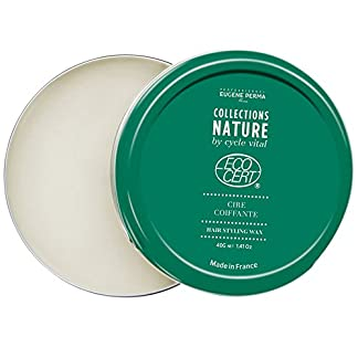 Eugene Perma professionnel Collections Nature by Cycle Vital cera para pelo, Certificado Orgánico, 40 g