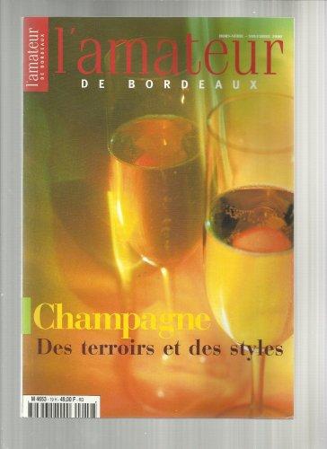 lamateur-bordeaux-hors-serie-n-19-novembre-2000champagne-des-terroirs-des-styles-veuve-clicquot-krug