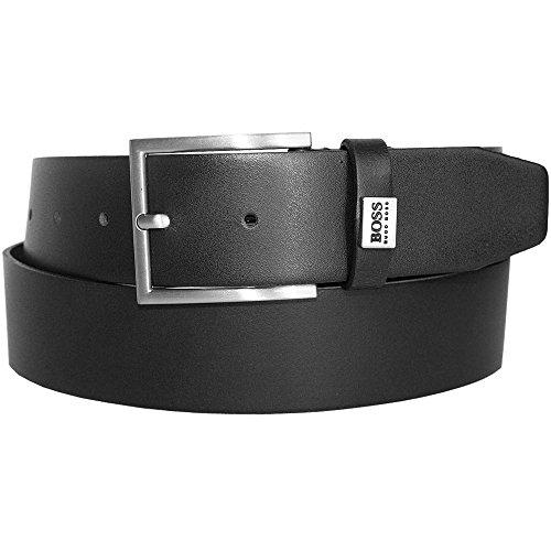 Hugo Boss BOSS Cinturón - para hombre, color Negro, talla 95