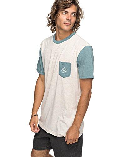 Quiksilver Baysic - Pocket T-Shirt - Pocket-T-Shirt - Männer - L - Weiss