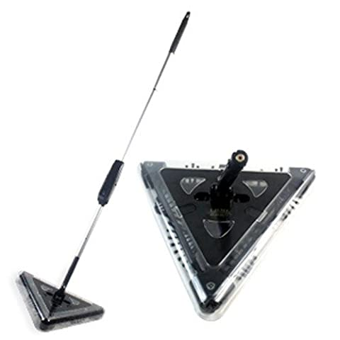 Balai Electrique Sans Fil Amazing 360° Tri-Angle Magic Sweeper Multi Surfaces Noir