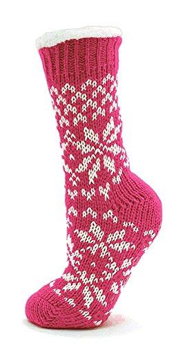 ladies-fairisle-fleece-lined-chunky-slipper-socks-4-7-one-size-pink