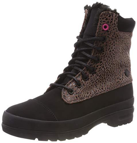 DC Shoes Amnesti Winter, Scarpe da Skateboard Donna, Marrone (Cheetah Print Che), 38 EU