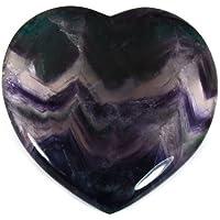 Rainbow Fluorite Crystal Heart Gift Box - Large 10cm by CrystalAge preisvergleich bei billige-tabletten.eu