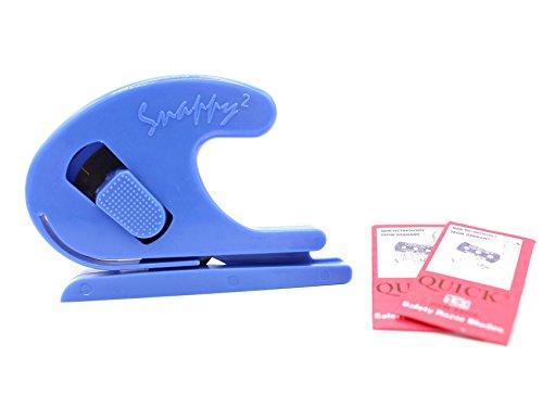 Snappy Cutter - sicherer Folienschneider Folienmesser + 2 Ersatzklingen Car Wrapping -
